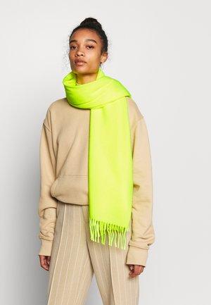 Šála - neon gelb grün