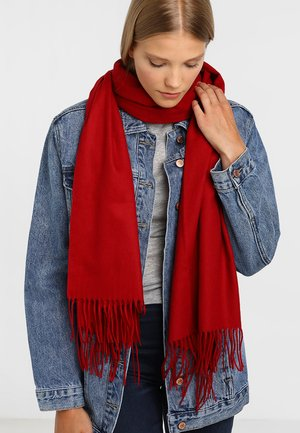 Scarf - classic red