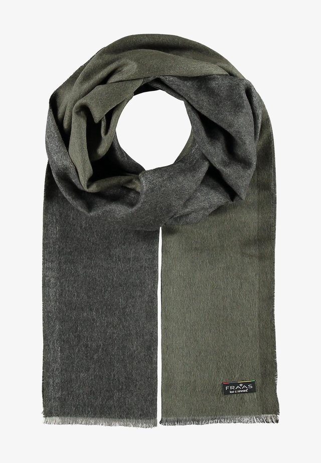 MIT DOUBLEFACE-DESIGN - MADE IN GERMANY - Scarf - khaki
