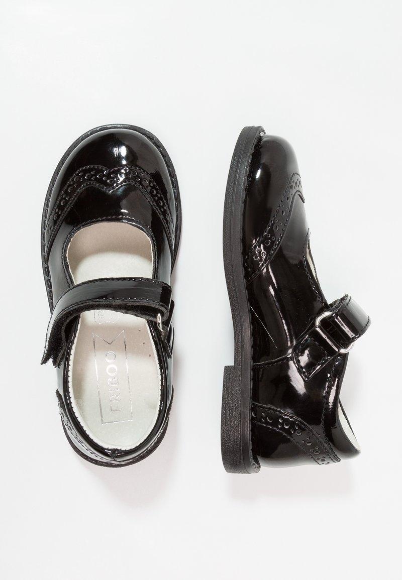 Friboo - Riemchenballerina - black