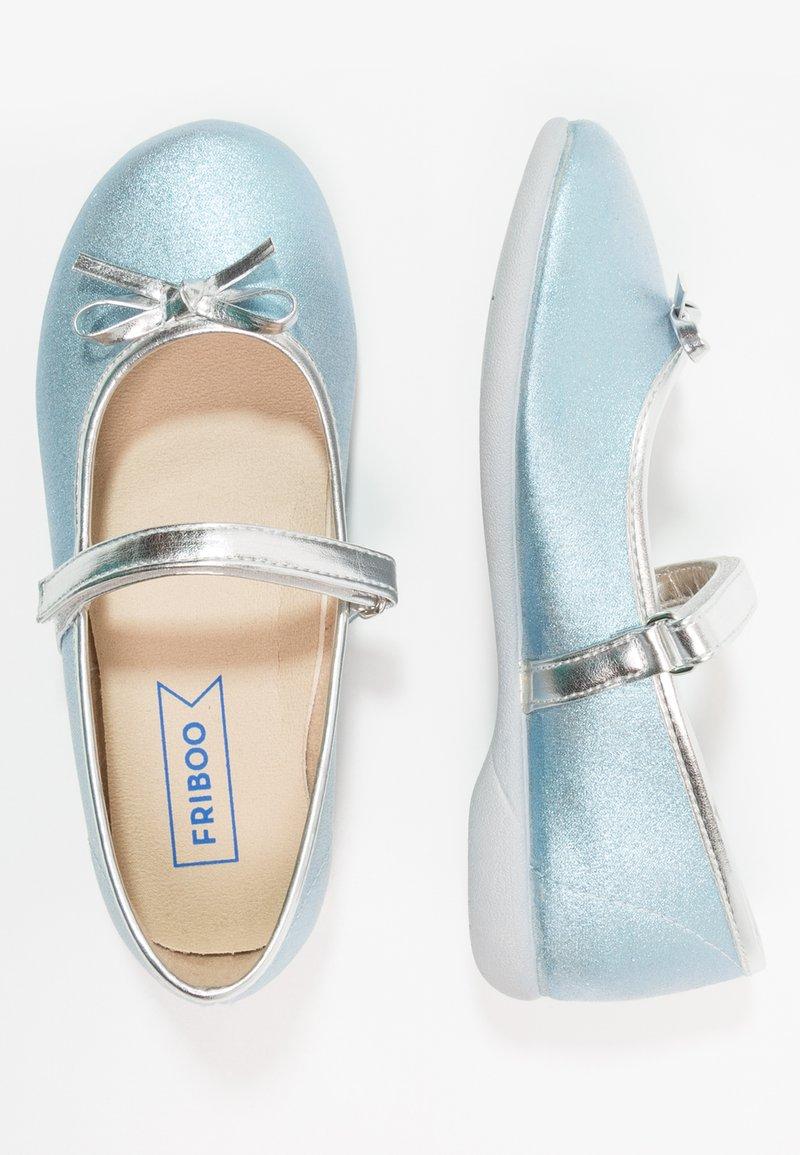 Friboo - Riemchenballerina - blue