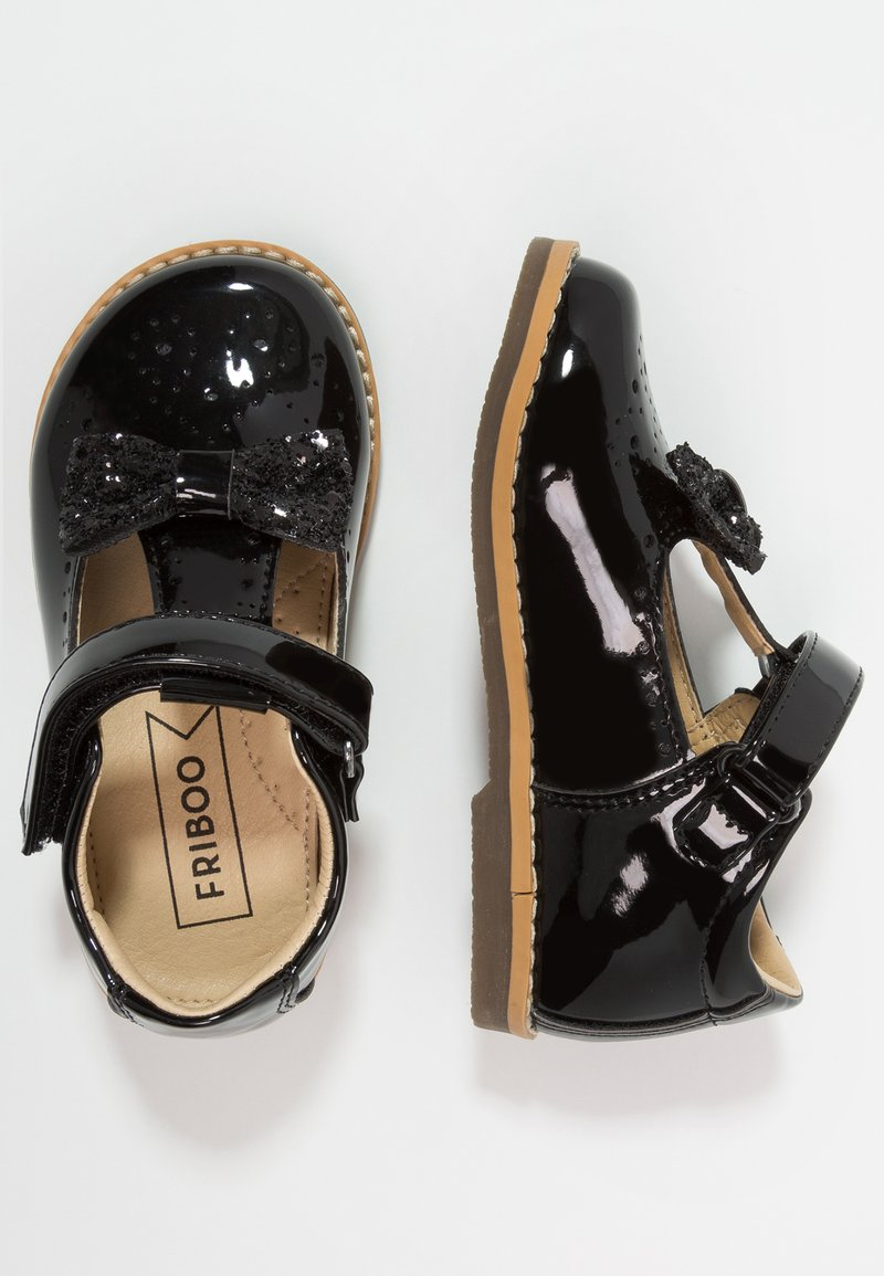 Friboo - Ballerinasko m/ rem - black