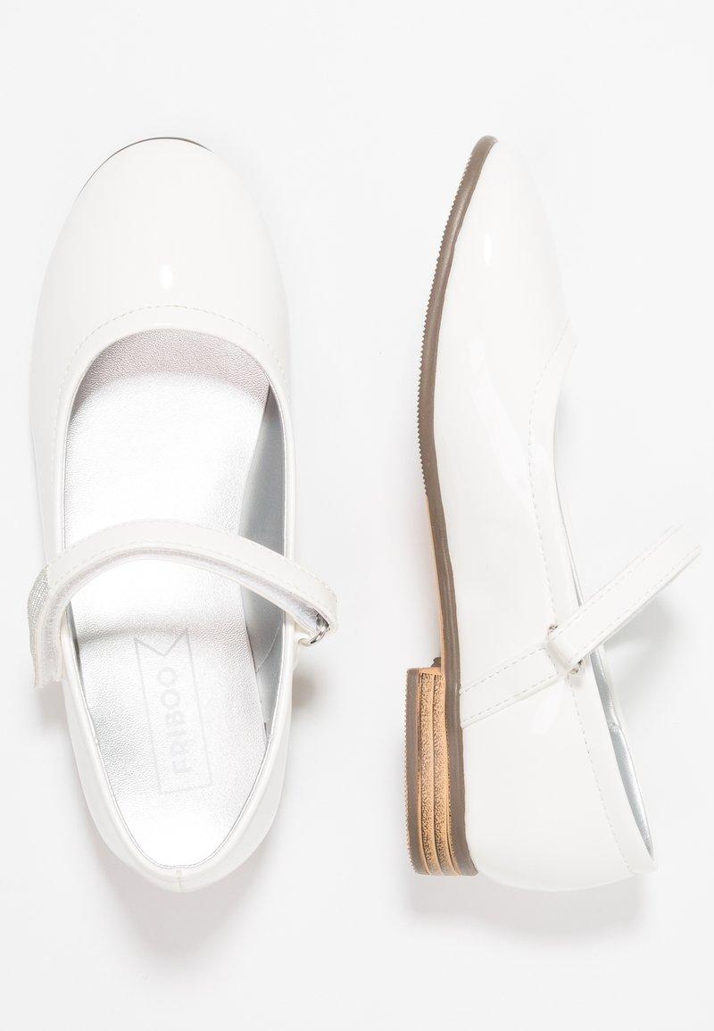 Friboo - Baleríny s páskem - white