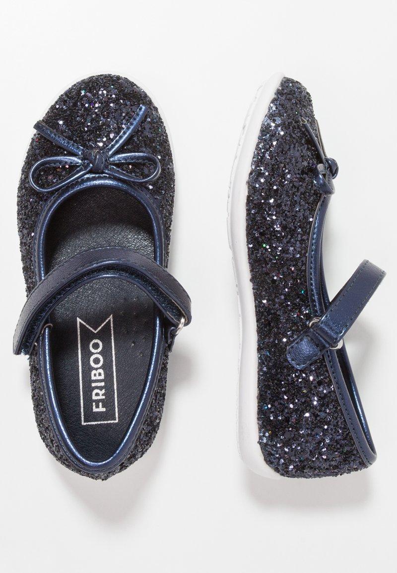 Friboo - Riemchenballerina - dark blue