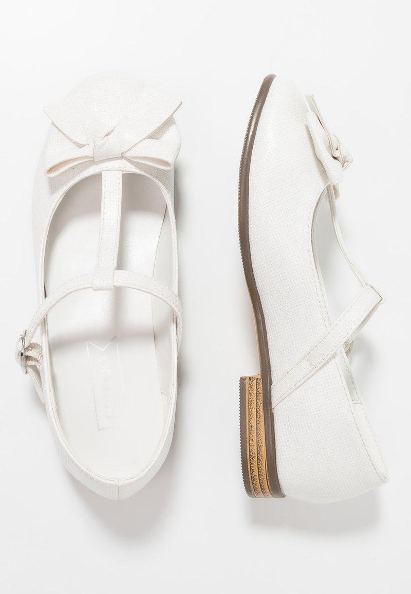 Friboo - Ankle strap ballet pumps - weiß
