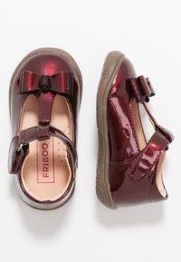 Friboo - Ankle strap ballet pumps - bordeaux - 0