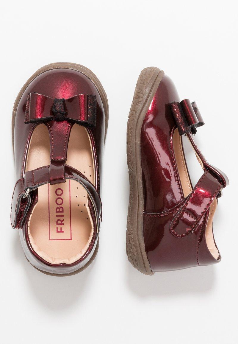 Friboo - Ankle strap ballet pumps - bordeaux
