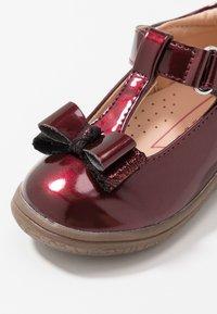 Friboo - Ankle strap ballet pumps - bordeaux - 2
