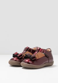 Friboo - Ankle strap ballet pumps - bordeaux - 3