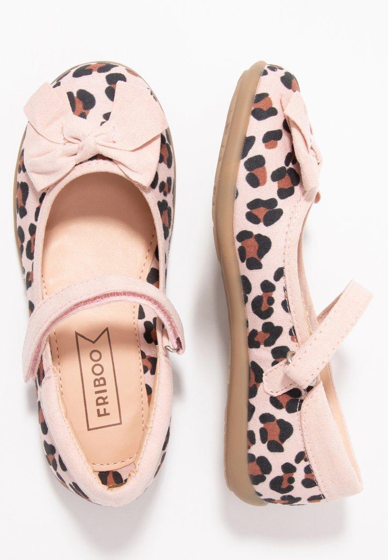 Friboo - Ankle strap ballet pumps - rose