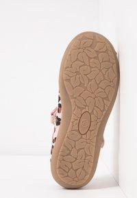 Friboo - Ankle strap ballet pumps - rose - 5