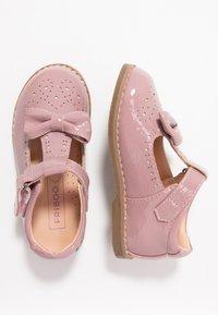 Friboo - Ballerina's met enkelbandjes - rose - 0