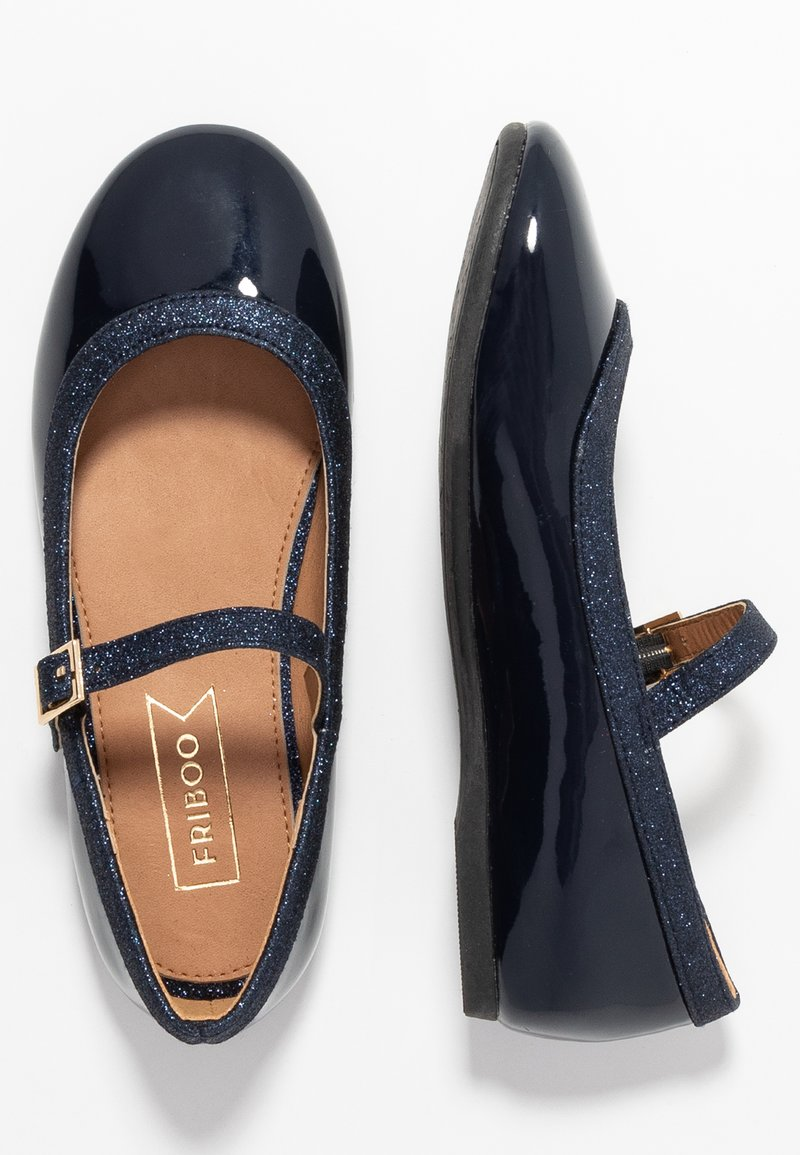 Friboo - Ankle strap ballet pumps - dark blue