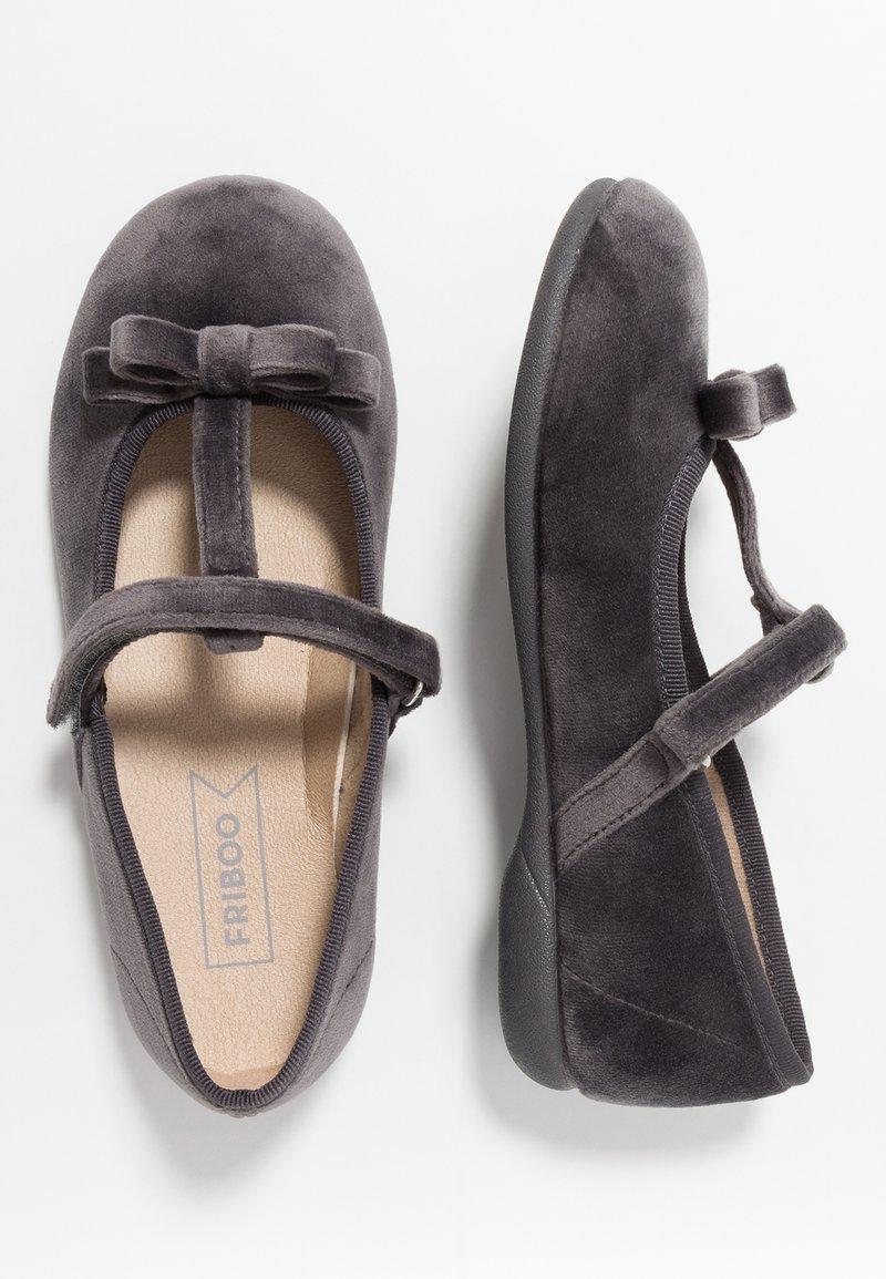 Friboo - Riemchenballerina - dark gray