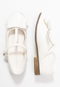 Friboo - Ankle strap ballet pumps - white - 0