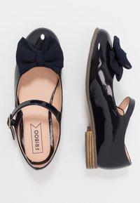 Friboo - Ballerina's met enkelbandjes - dark blue - 0