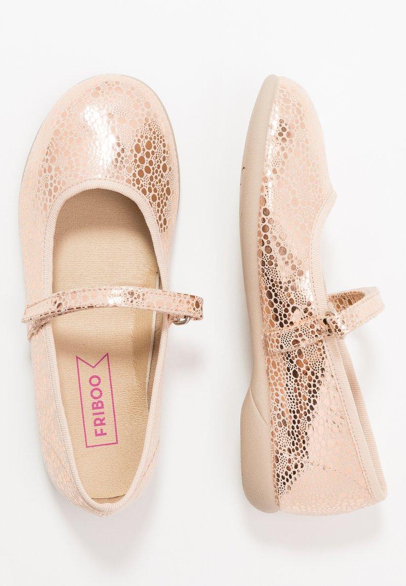 Friboo - Bailarinas con hebilla - rose gold