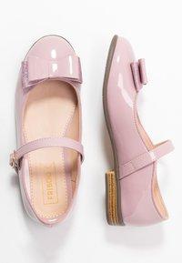 Friboo - Ankle strap ballet pumps - mauve - 0