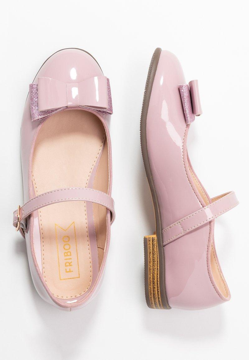 Friboo - Ankle strap ballet pumps - mauve