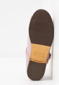 Friboo - Ankle strap ballet pumps - mauve - 5
