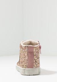 Friboo - Korkeavartiset tennarit - rose - 4