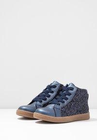 Friboo - Sneakersy wysokie - dark blue - 3