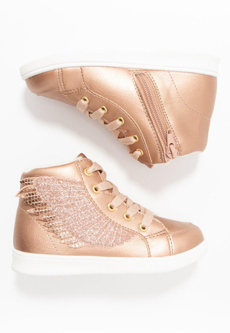 Friboo - Sneakers hoog - rose gold