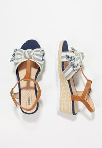 Friboo - Sandals - blue - 0