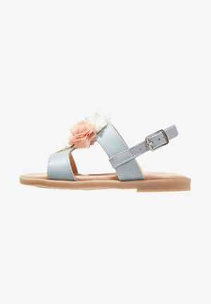 Riemensandalette - light blue