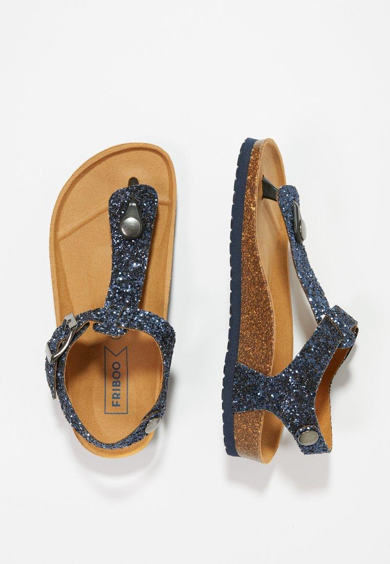 Friboo - T-bar sandals - dark blue