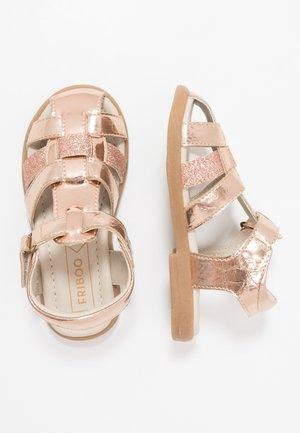 Sandalias - bronze