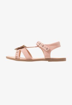 Sandaalit nilkkaremmillä - rose