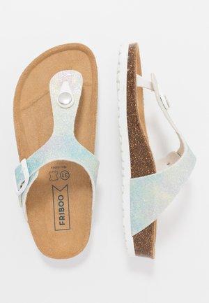 T-bar sandals - light blue