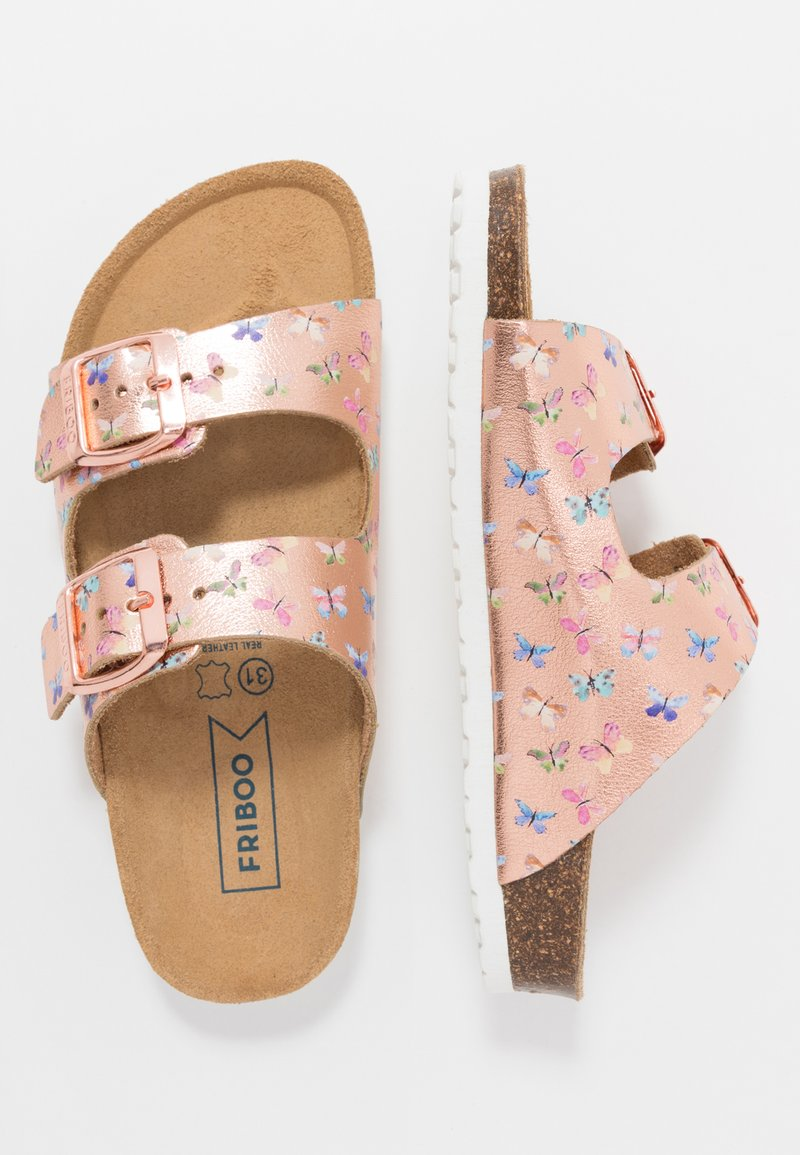 Friboo - Slippers - rose gold