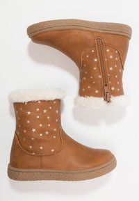Friboo - Classic ankle boots - cognac - 0
