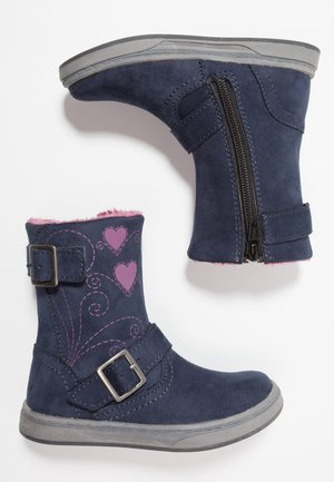 Classic ankle boots - dark blue