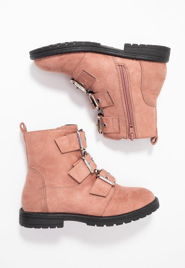 Korte laarzen - rose