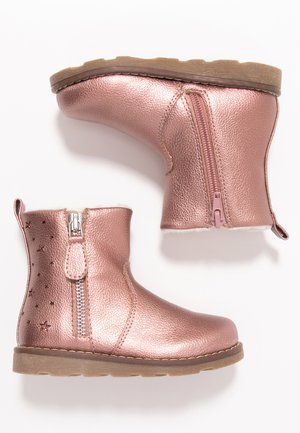 Classic ankle boots - rose