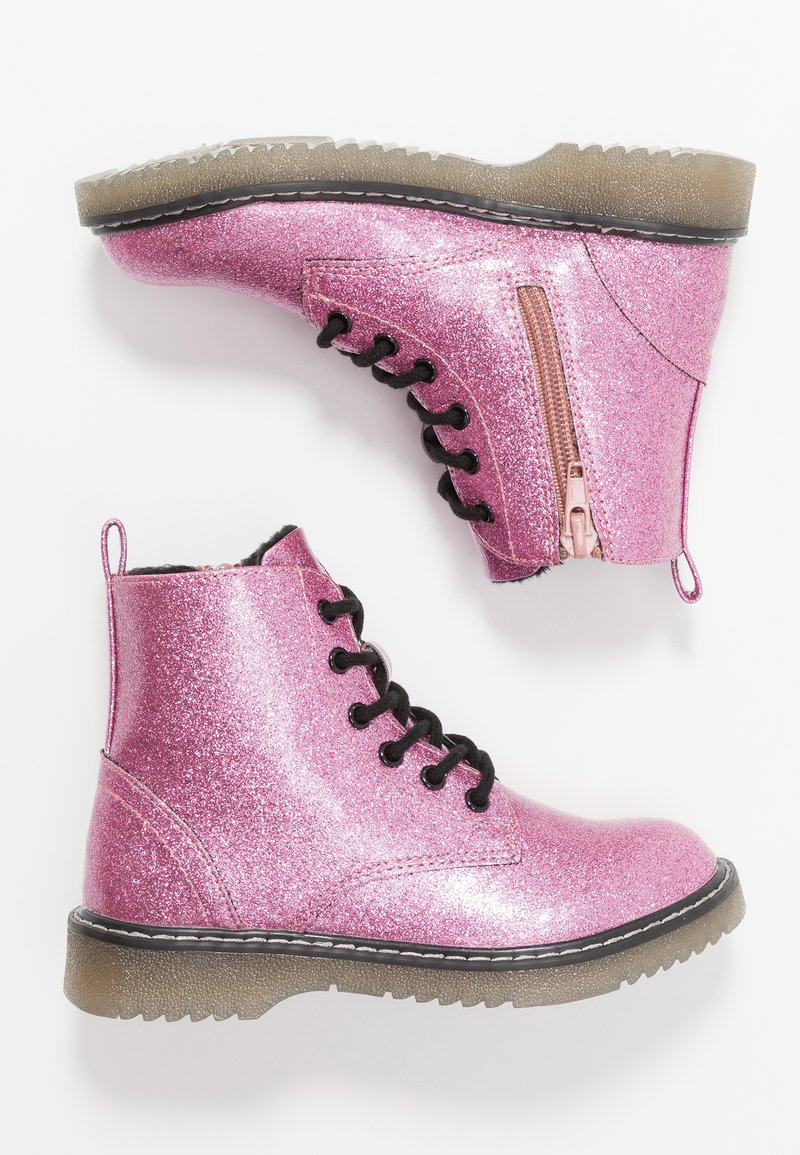 Friboo - Lace-up ankle boots - pink