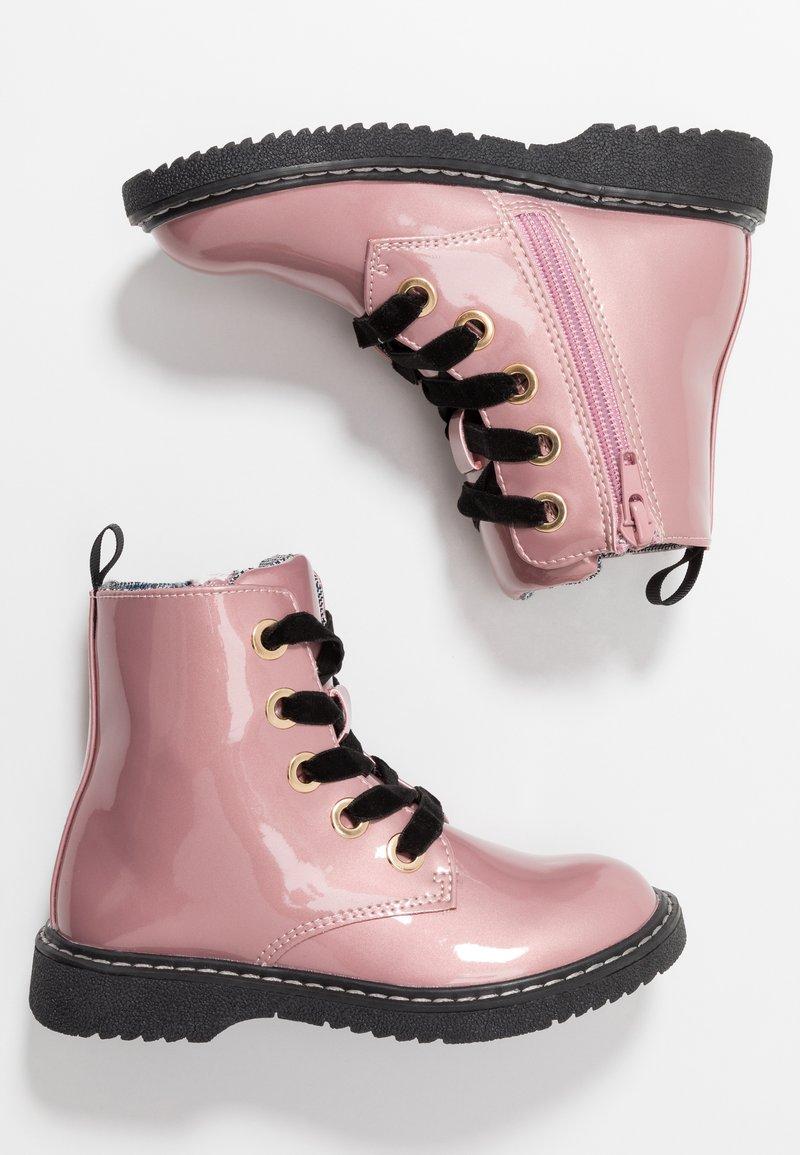 Friboo - Schnürstiefelette - pink