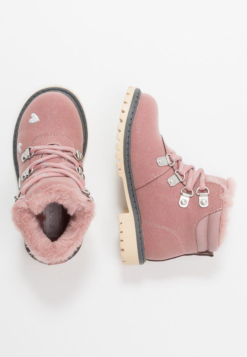 Friboo - Nauhalliset nilkkurit - old pink