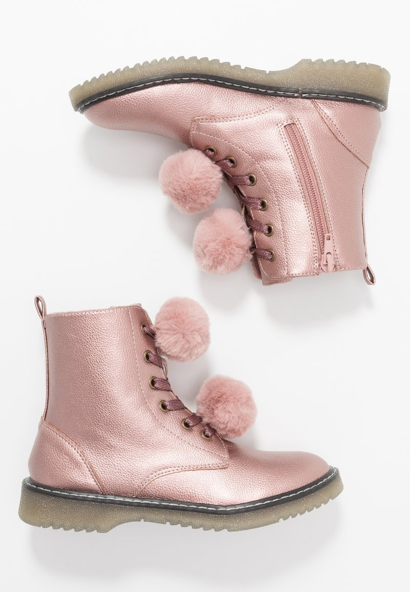 Friboo - Lace-up ankle boots - rose