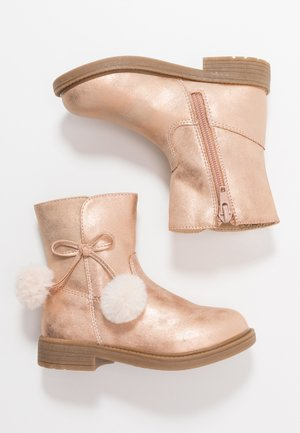 Classic ankle boots - rose gold