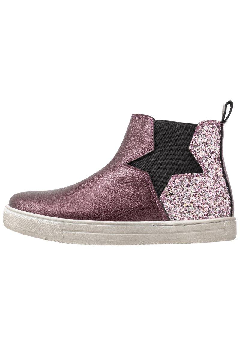 Friboo - Stiefelette - bordeaux/pink