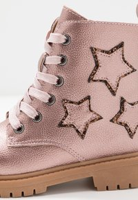 Friboo - Lace-up ankle boots - old pink - 2