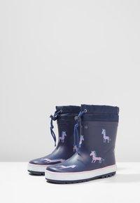 Friboo - Stivali di gomma - dark blue - 3