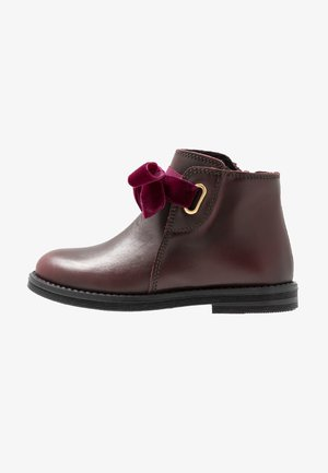 Kotníkové boty - bordeaux