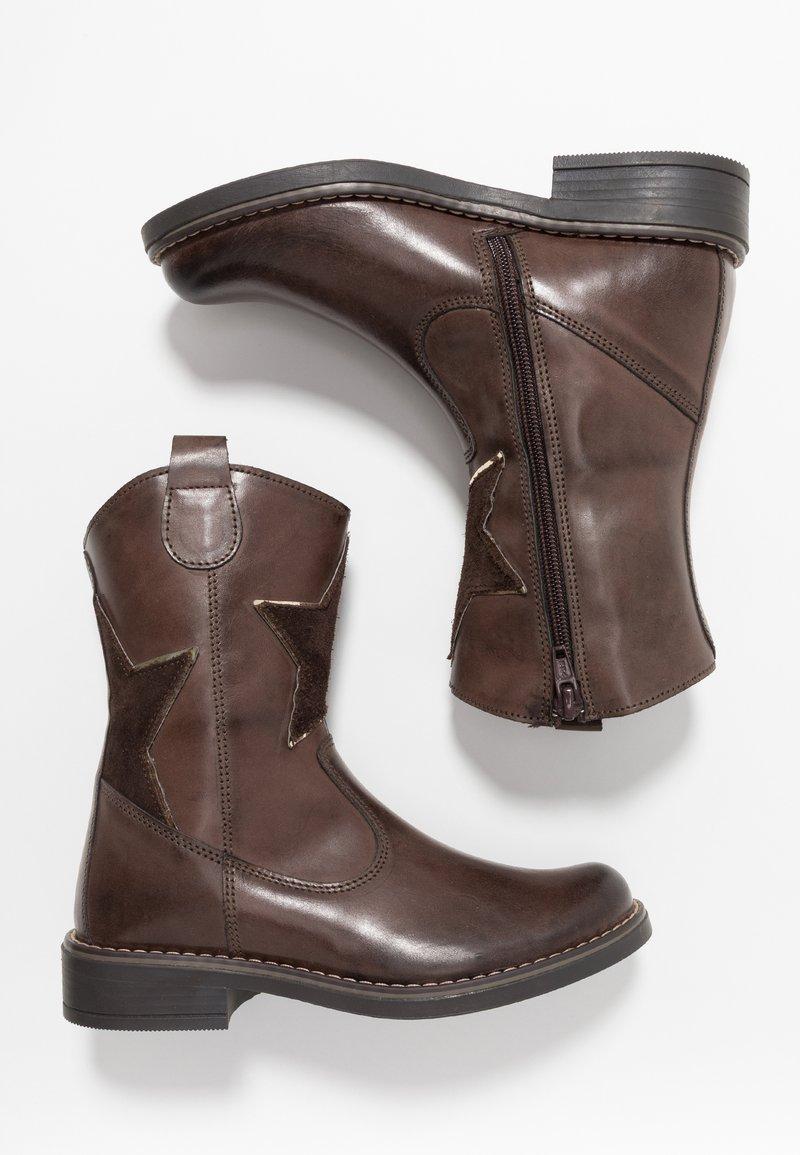 Friboo - Cowboy/Biker boots - brown