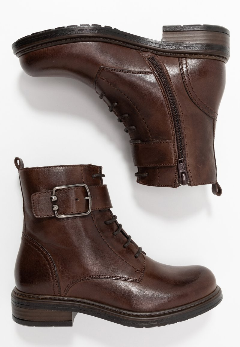Friboo - Lace-up ankle boots - dark brown