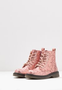 Friboo - Lace-up ankle boots - old pink - 3